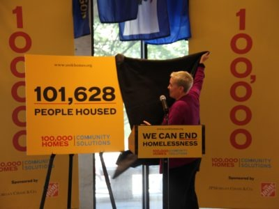 101,628 People Housed: 100,000 Homes - Community Solutions
