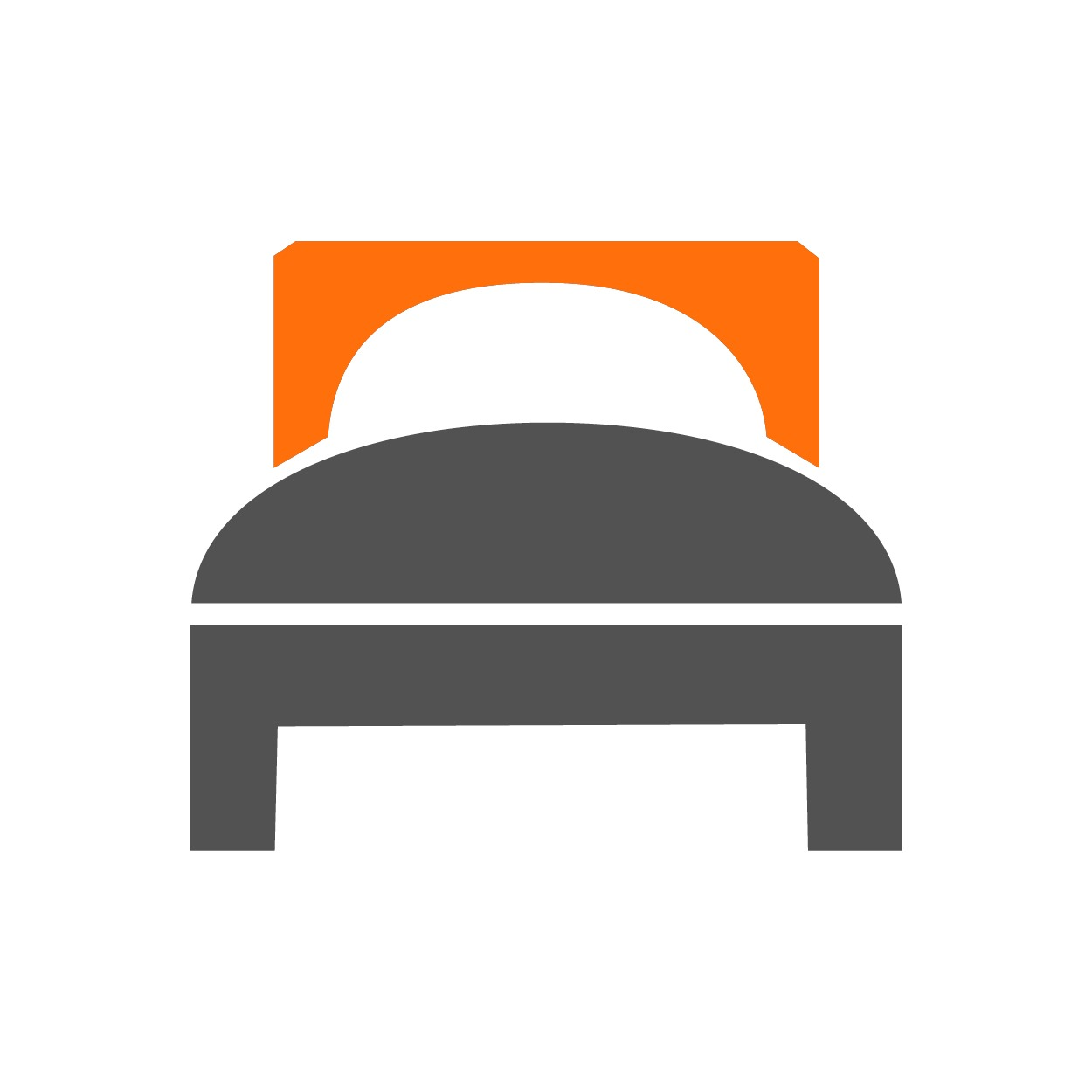 Bed graphic, created by Mister Pixel from the Noun Project