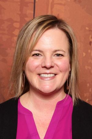 Headshot of Cathy Alderman, chief communications and policy officer for the Colorado Coalition for the Homeless.
